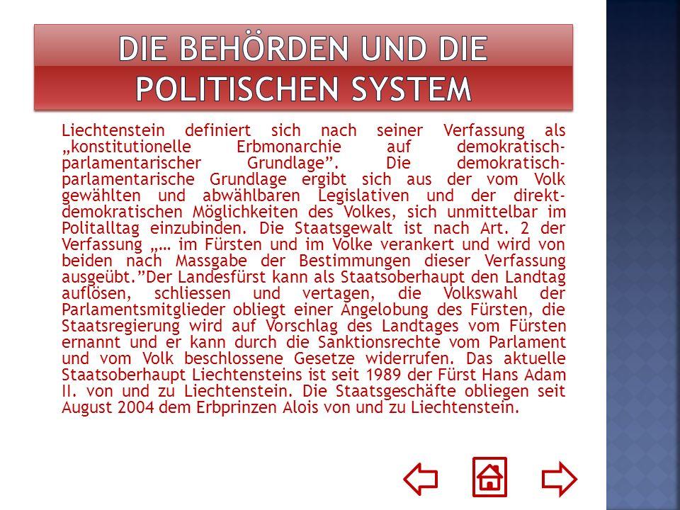 Die Behörden und die politischen System