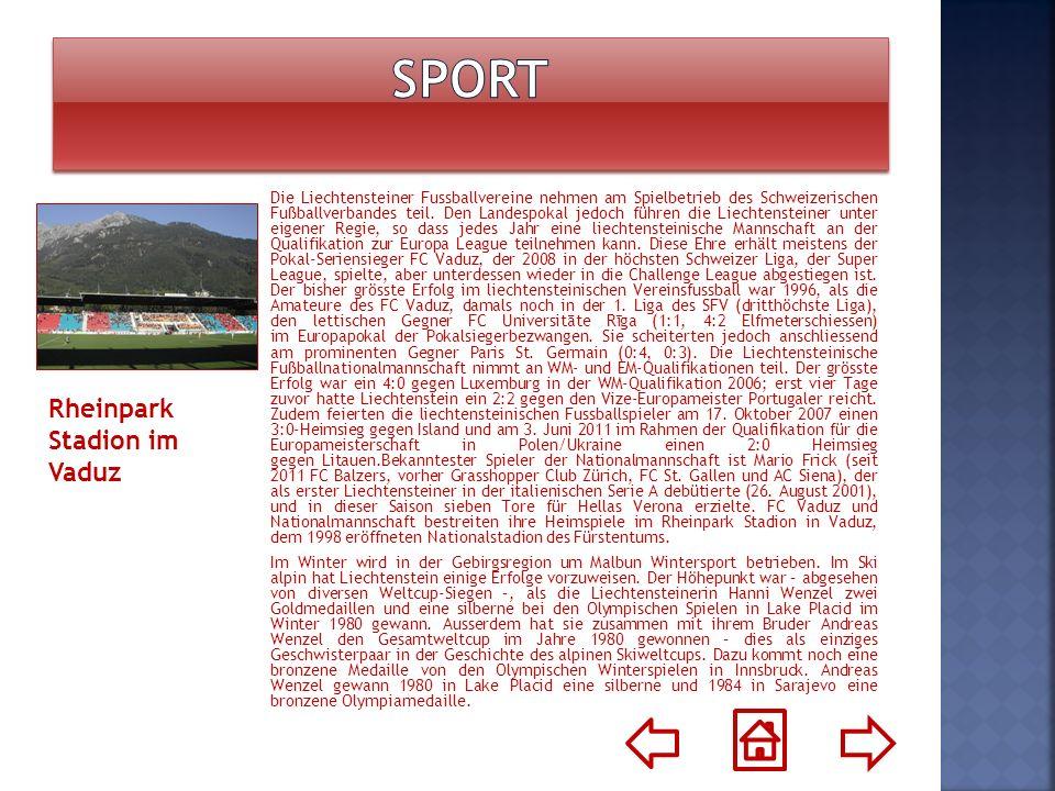 Sport Rheinpark Stadion im Vaduz