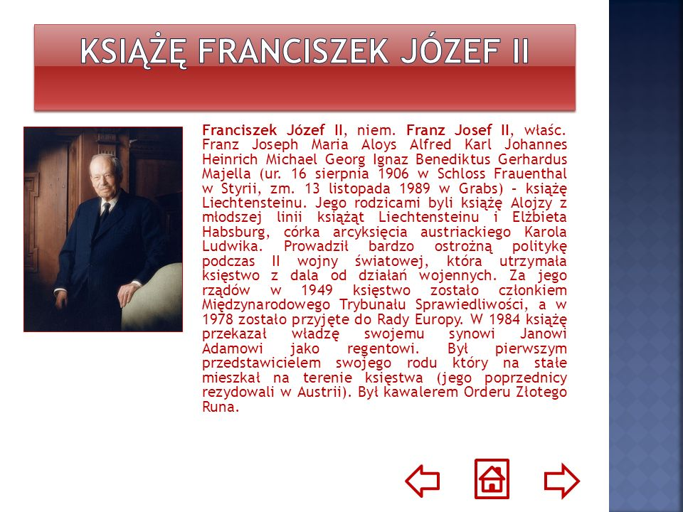Książę Franciszek Józef II