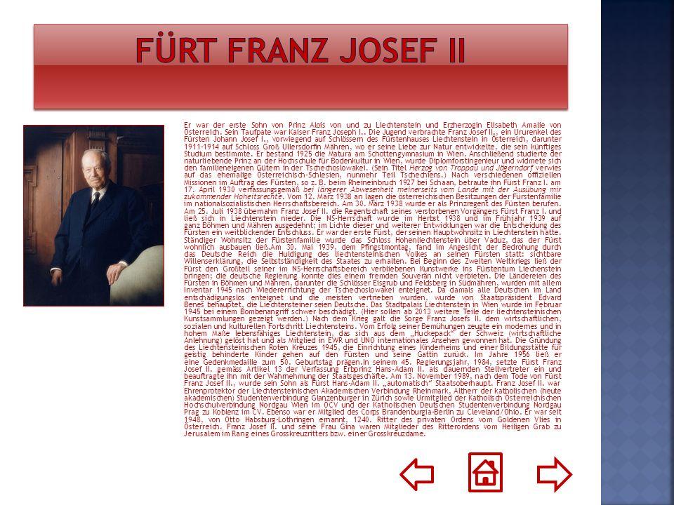 Fürt Franz Josef II