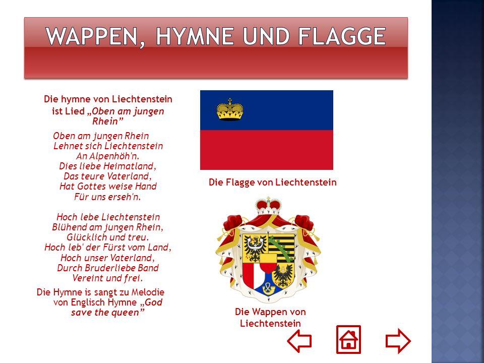Wappen, Hymne und Flagge