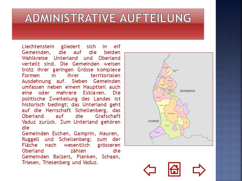 Administrative Aufteilung