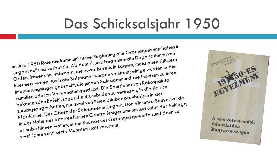 Das Schicksalsjahr 1950