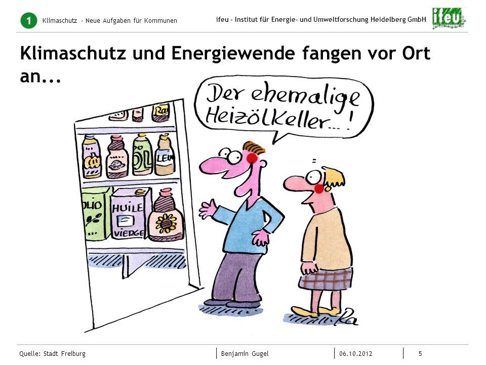 Klimaschutz und Energiewende fangen vor Ort an...