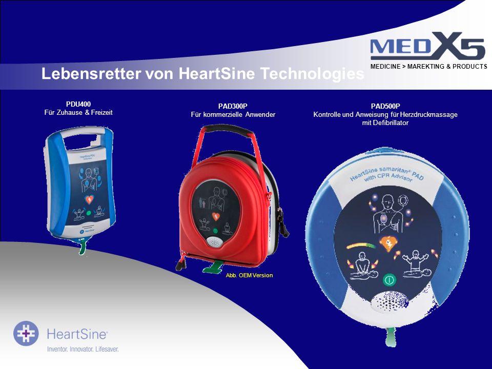 Lebensretter von HeartSine Technologies