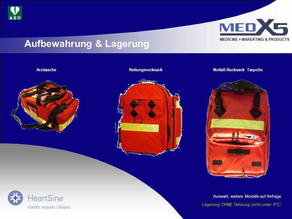 Notfall-Rucksack Tarpolin Lagerung OHNE Heizung nicht unter 0°C!