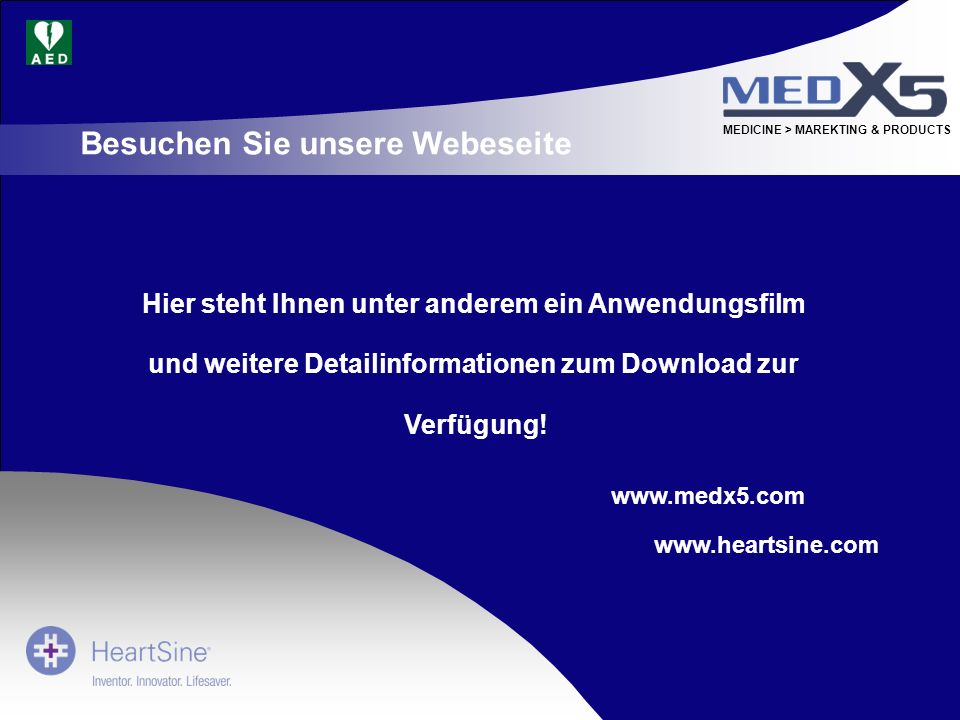 Besuchen Sie unsere Webeseite