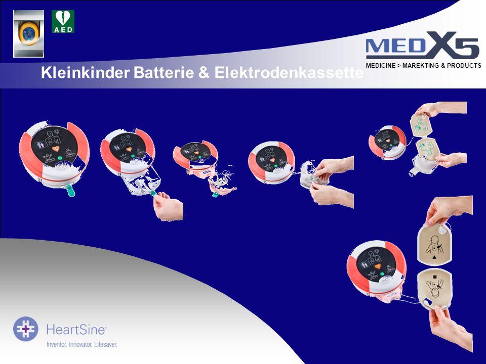 Kleinkinder Batterie & Elektrodenkassette