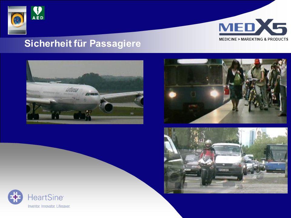 Sicherheit für Passagiere