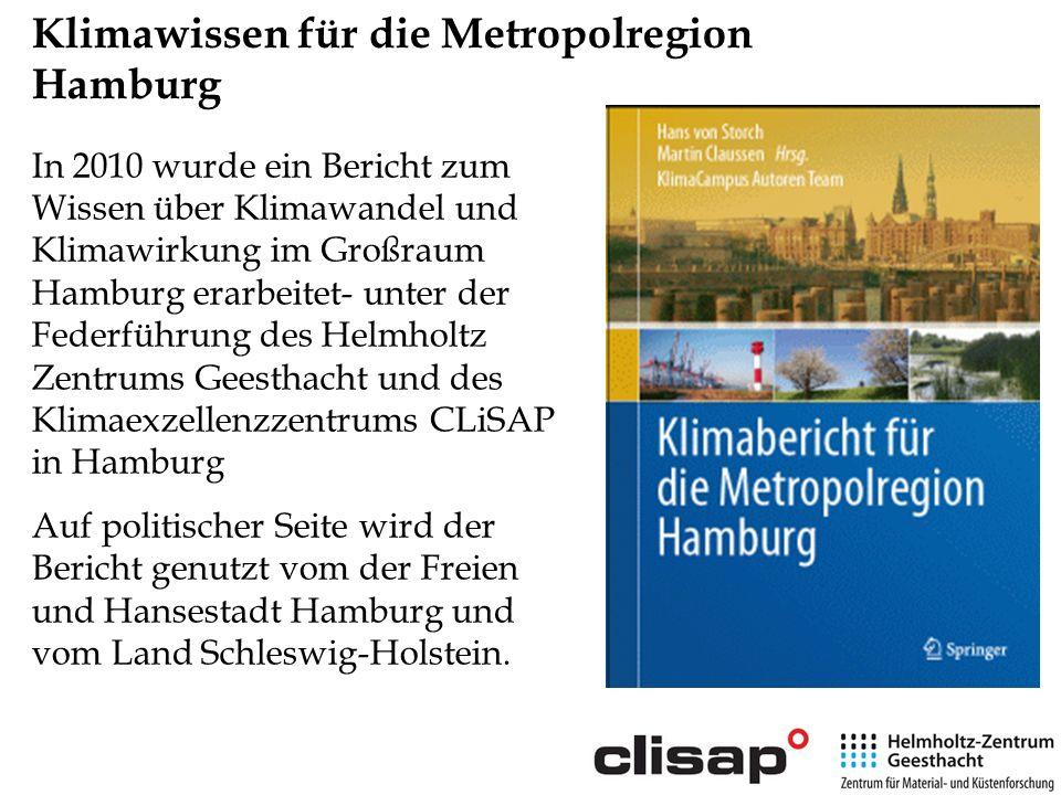 Klimawissen für die Metropolregion Hamburg