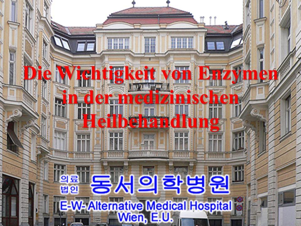 Die Wichtigkeit von Enzymen in der medizinischen Heilbehandlung