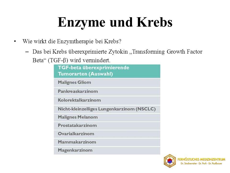 Enzyme und Krebs Wie wirkt die Enzymtherapie bei Krebs