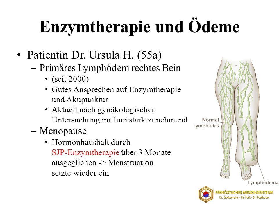 Enzymtherapie und Ödeme