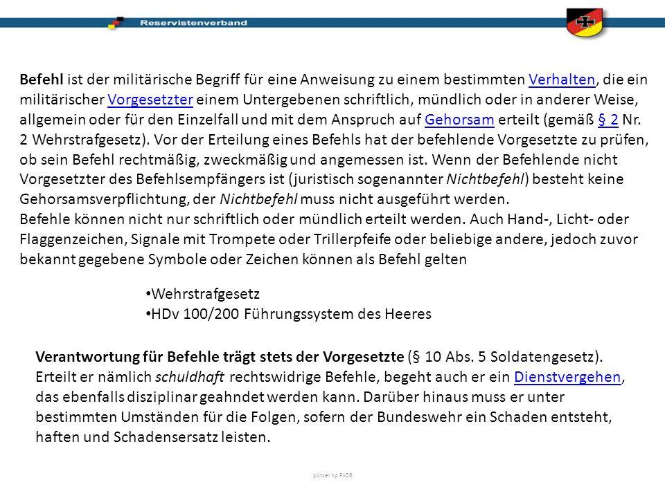 HDv 100/200 Führungssystem des Heeres
