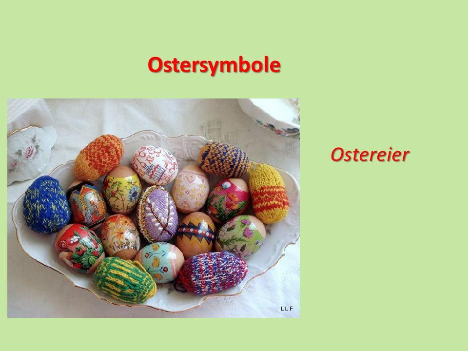 Ostersymbole Ostereier