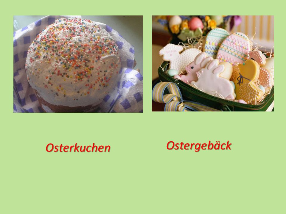 Ostergebäck Osterkuchen