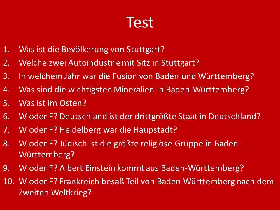 Test Was ist die Bevölkerung von Stuttgart