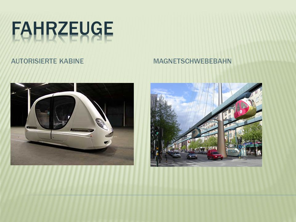 Fahrzeuge Autorisierte kabine Magnetschwebebahn