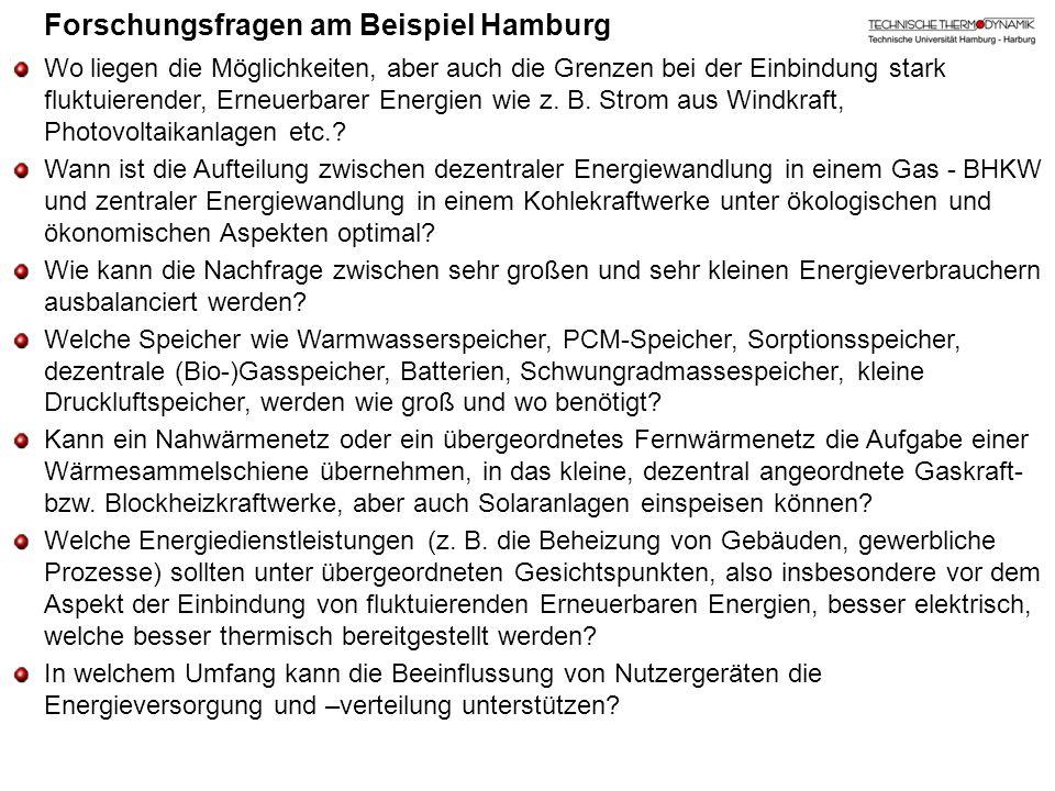 Forschungsfragen am Beispiel Hamburg