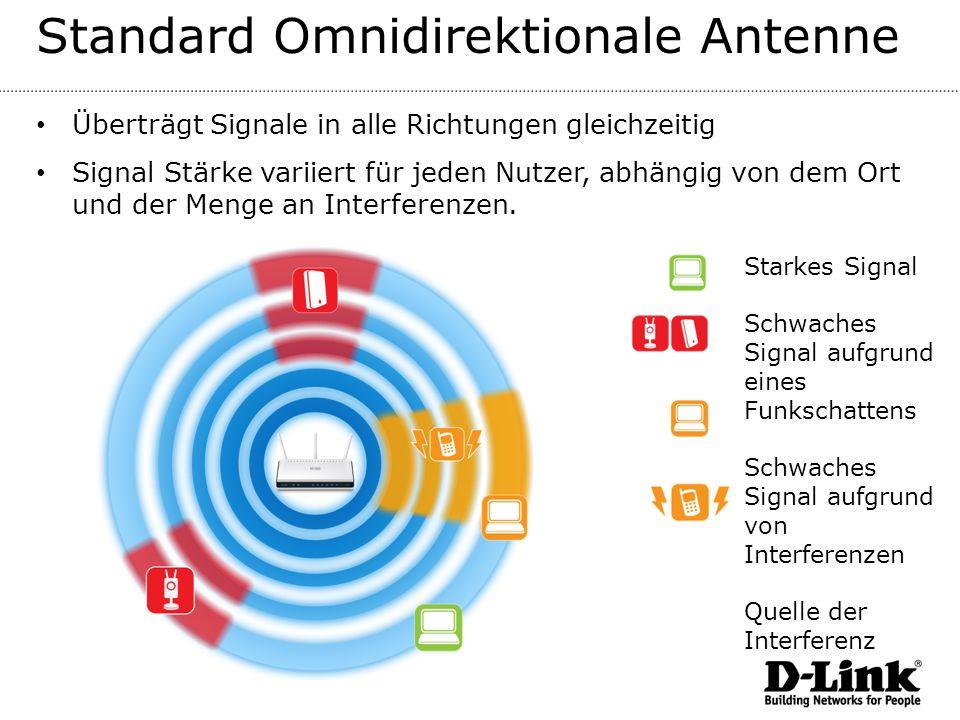 Standard Omnidirektionale Antenne