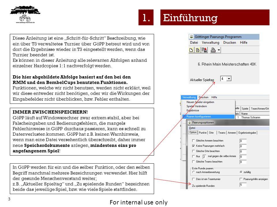 """1. Einführung. Diese Anleitung ist eine """"Schritt-für-Schritt Beschreibung, wie."""