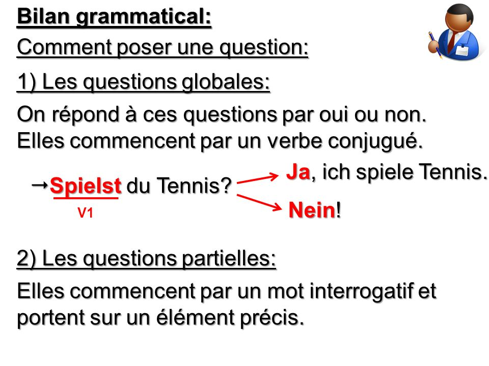 Comment poser une question: