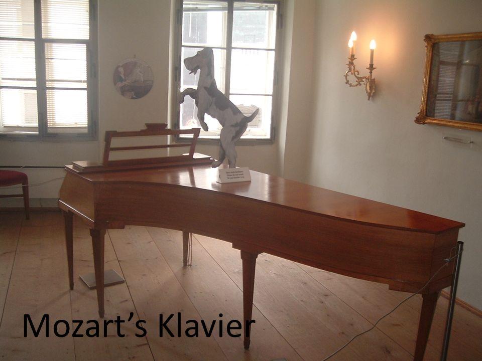 Mozart's Klavier