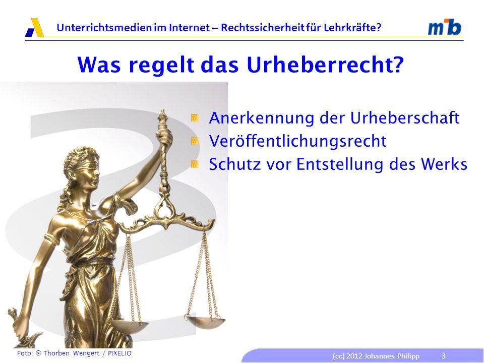 Was regelt das Urheberrecht