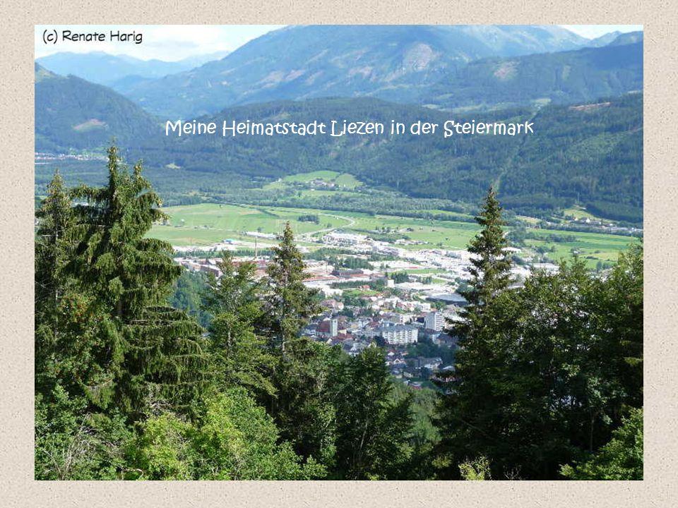 Meine Heimatstadt Liezen in der Steiermark