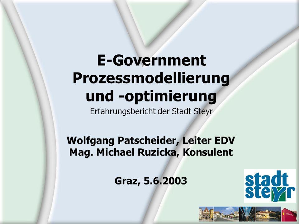 Wolfgang Patscheider, Leiter EDV Mag. Michael Ruzicka, Konsulent