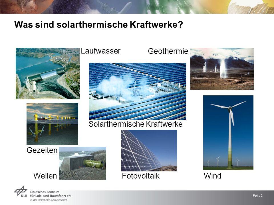 Was sind solarthermische Kraftwerke