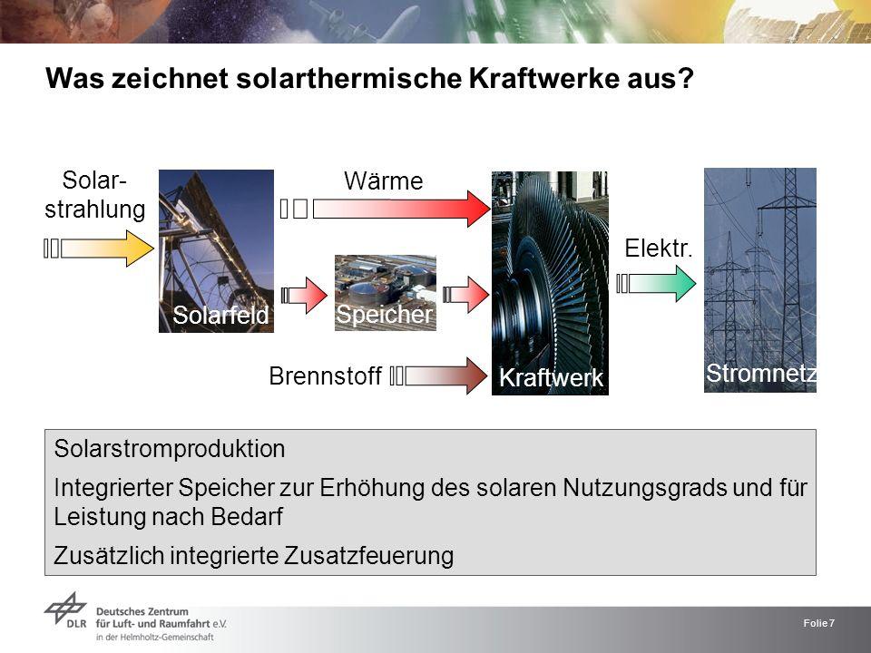 Was zeichnet solarthermische Kraftwerke aus