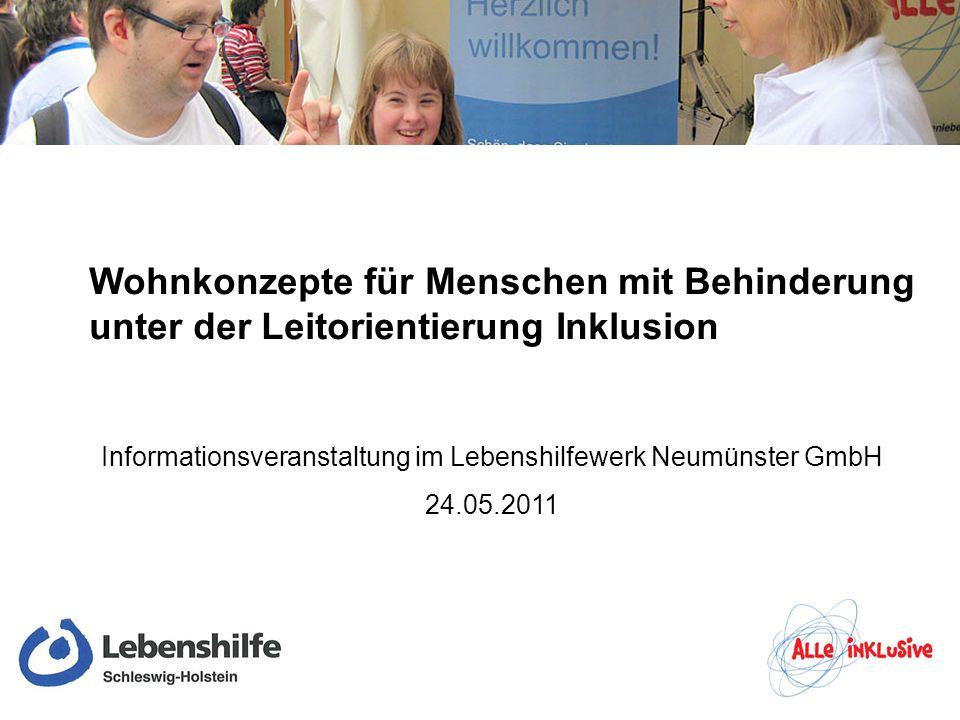 Informationsveranstaltung im Lebenshilfewerk Neumünster GmbH