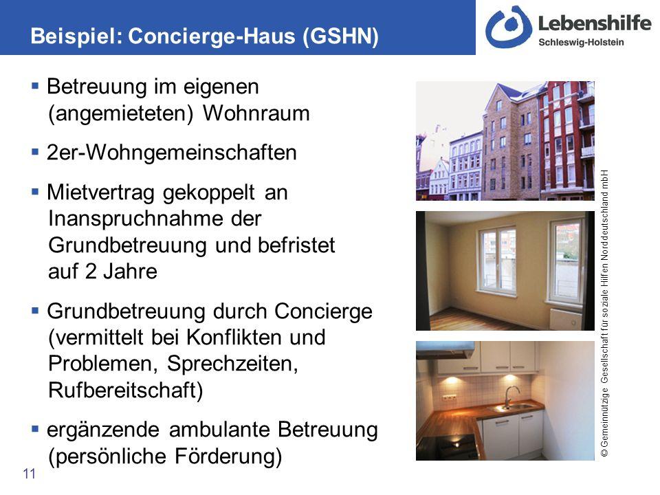 Beispiel: Concierge-Haus (GSHN)