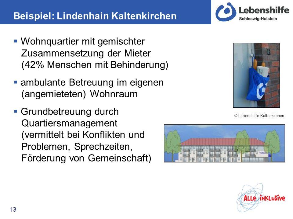Beispiel: Lindenhain Kaltenkirchen