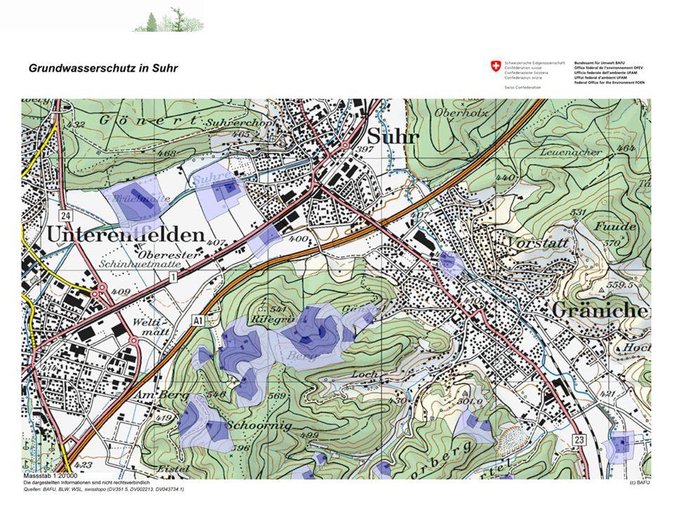 Wo liegt das Problem Schutzzone S1 - Fassungsbereich Zone Vorschrift