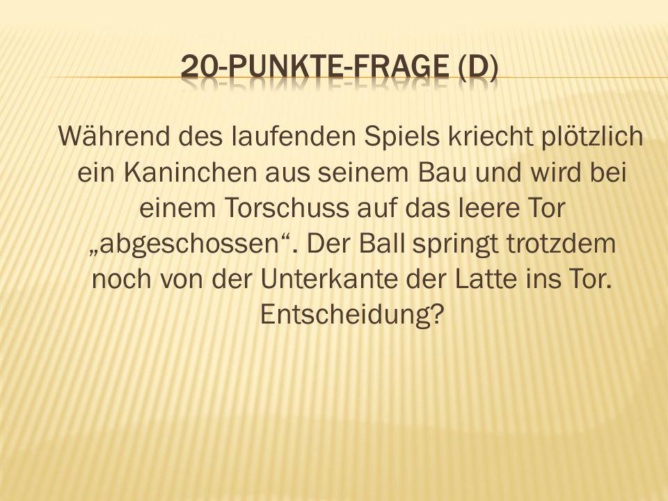 20-Punkte-Frage (D)