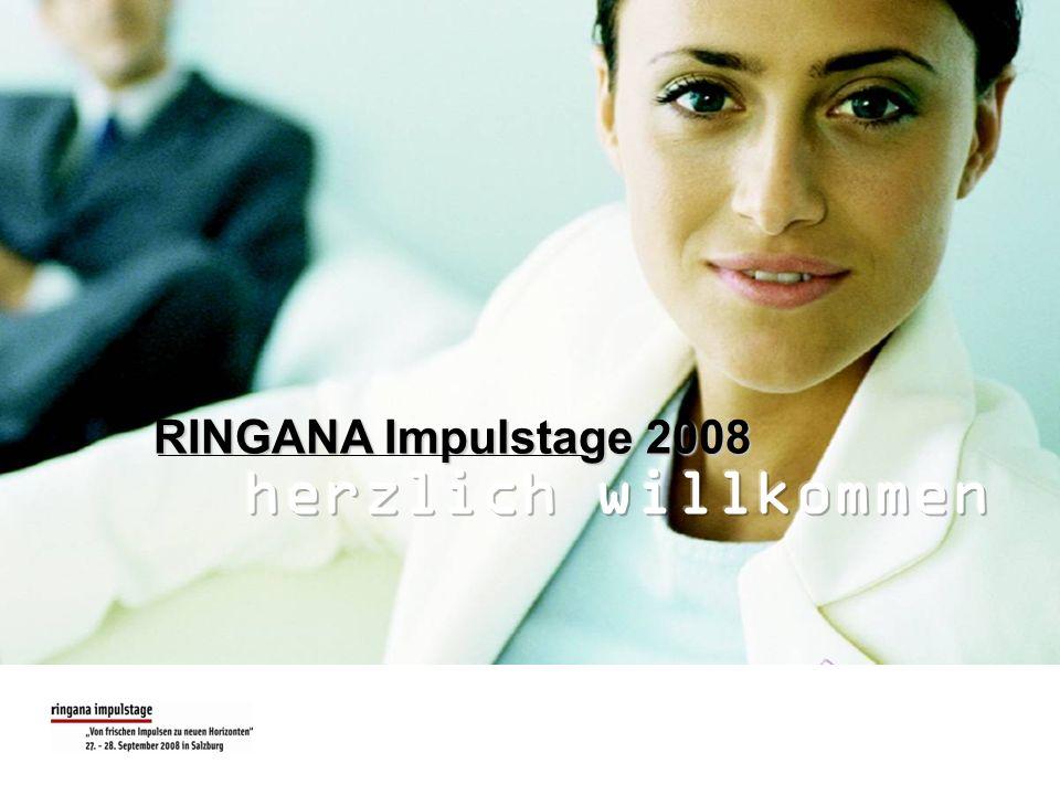 RINGANA Impulstage 2008 herzlich willkommen