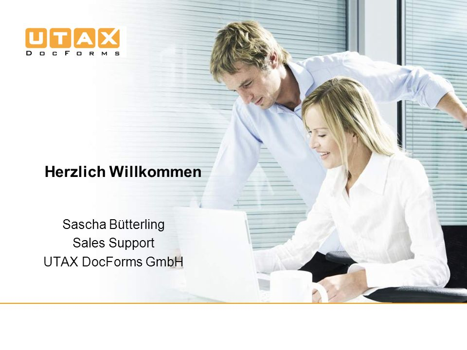 Sascha Bütterling Sales Support UTAX DocForms GmbH