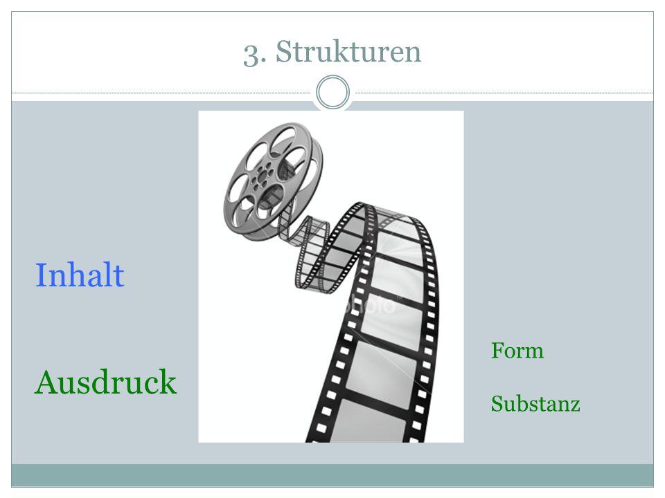 3. Strukturen Inhalt Form Substanz Ausdruck