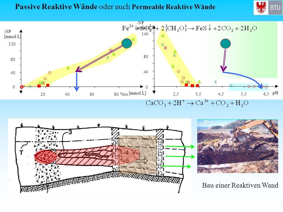 Passive Reaktive Wände oder auch Permeable Reaktive Wände