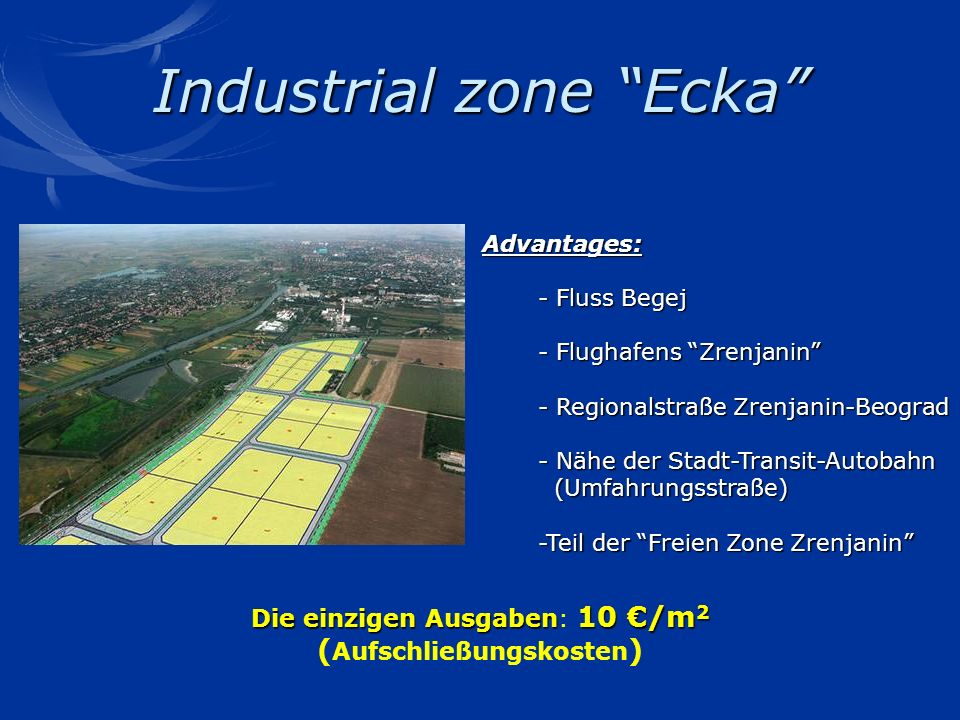 Industrial zone Ecka