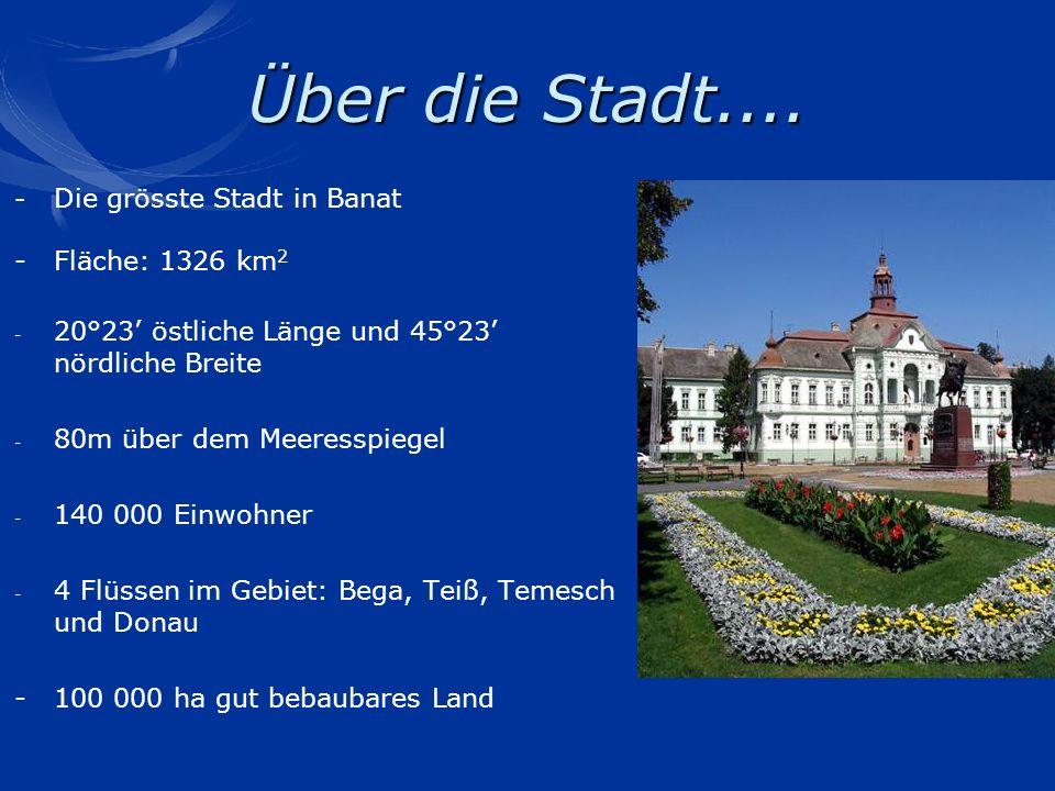 Über die Stadt.... - Fläche: 1326 km2