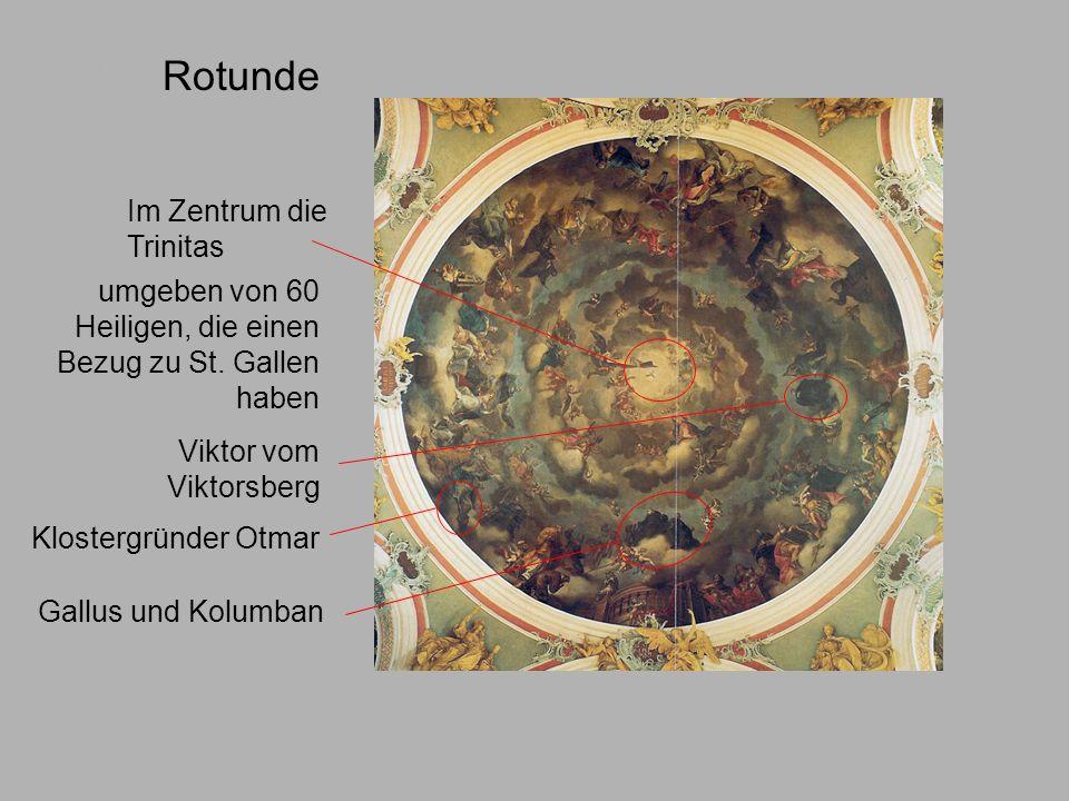 Rotunde Kuppel Im Zentrum die Trinitas