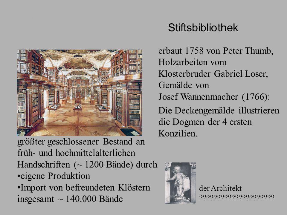 Stiftsbibliothek Stiftsbibliothek.