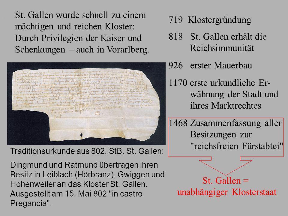Entstehung des Klosterstaates