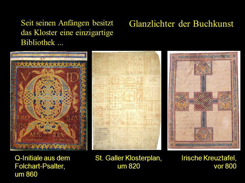 St. Galler Klosterplan, um 820