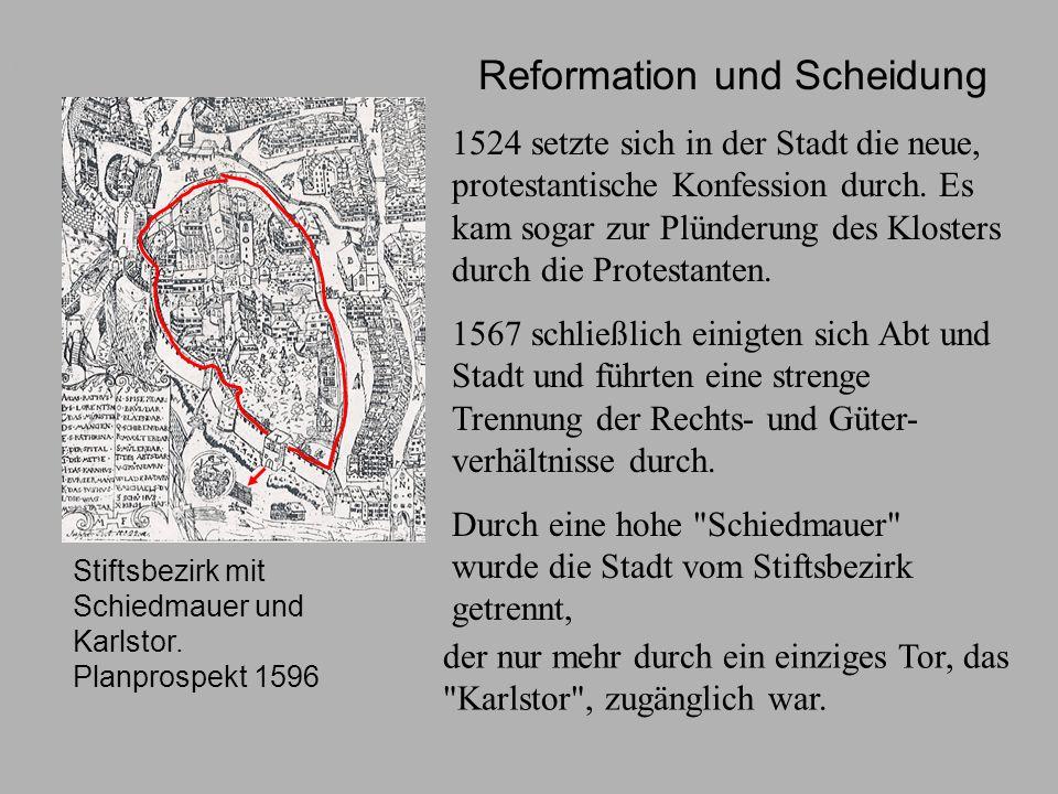 Reformation und Scheidung