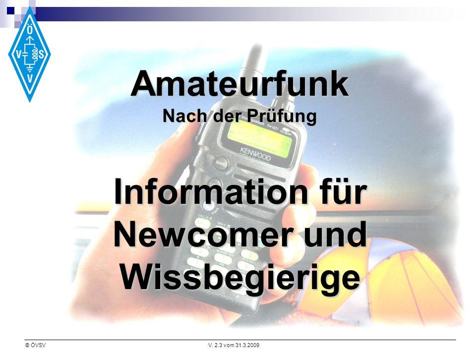 Information für Newcomer und Wissbegierige