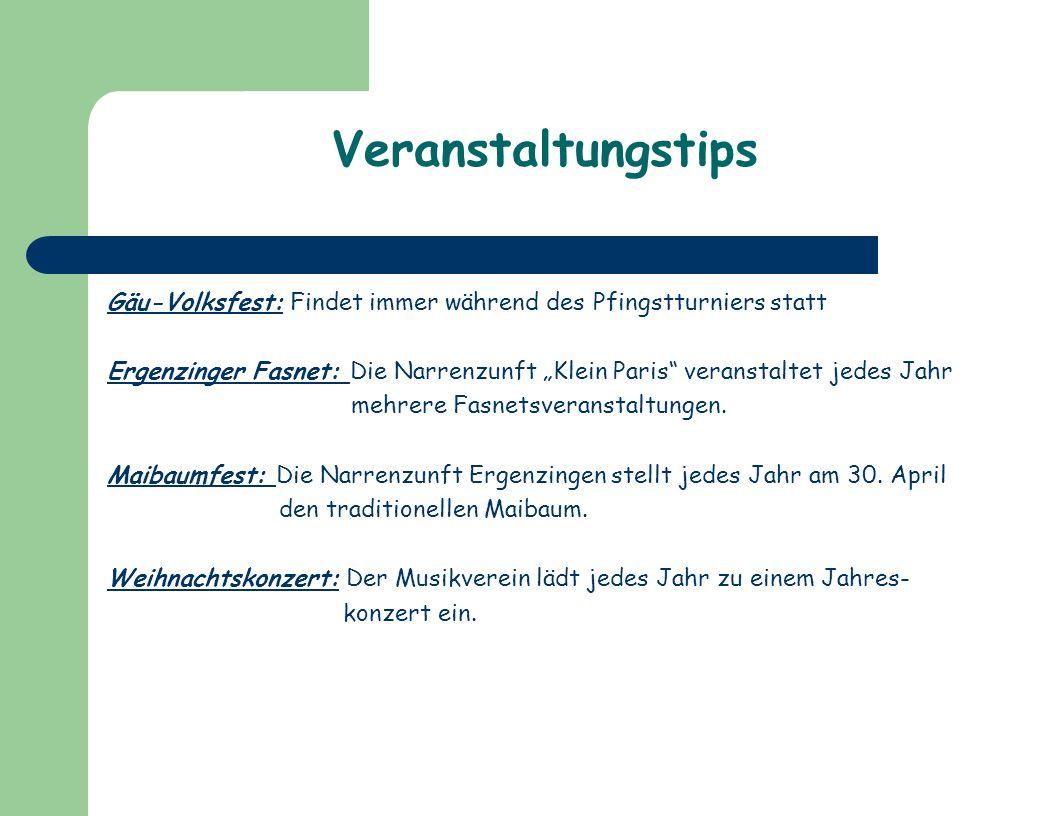 Veranstaltungstips Gäu-Volksfest: Findet immer während des Pfingstturniers statt.